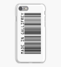 Made In Gallifrey iPhone Case/Skin