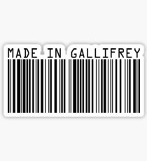 Made In Gallifrey Sticker