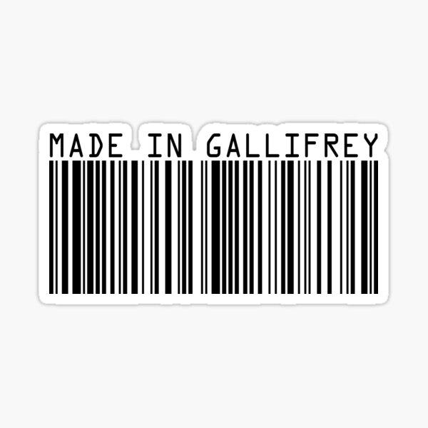 Made In Gallifrey Sticker