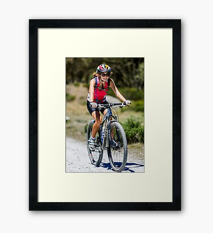 Pretty Valley Adventure Framed Print