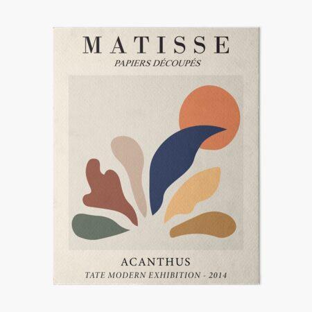 Henri Matisse - Acanthe - Papiers Découpés Impression rigide