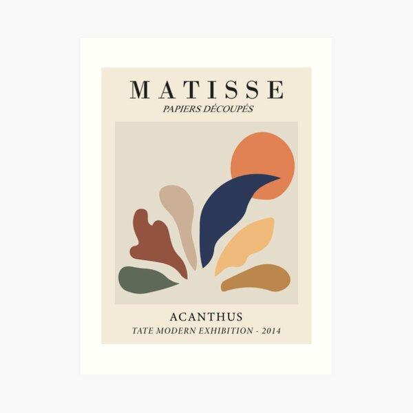 Henri Matisse - Acanthus - Papiers Découpés Art Print