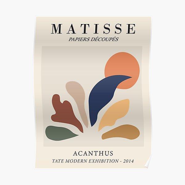 Henri Matisse - Acanthus - Papiers Découpés Poster