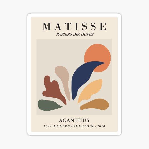 Henri Matisse - Acanthus - Papiers Découpés Sticker