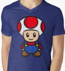 Mario Toad Men's V-Neck T-Shirt