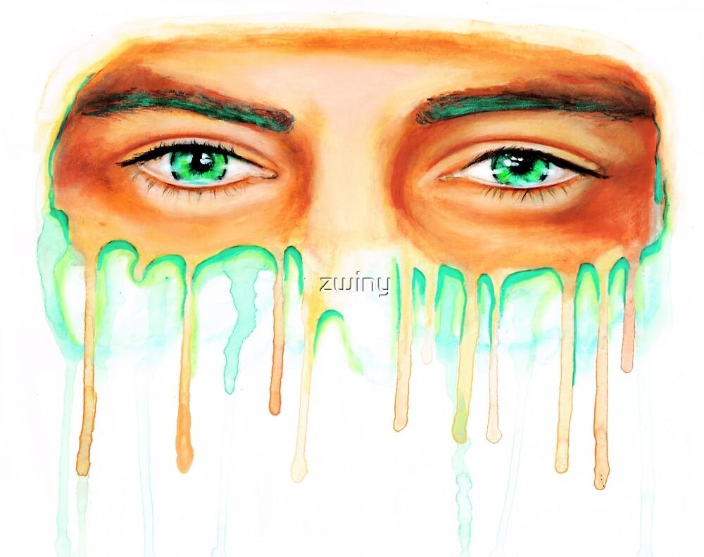 harry's eyes by zwiny