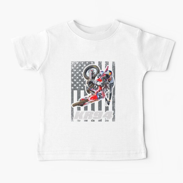 Ken Roczen KR94 American Flag 450 94 USA Supercross Champion Camiseta para bebés
