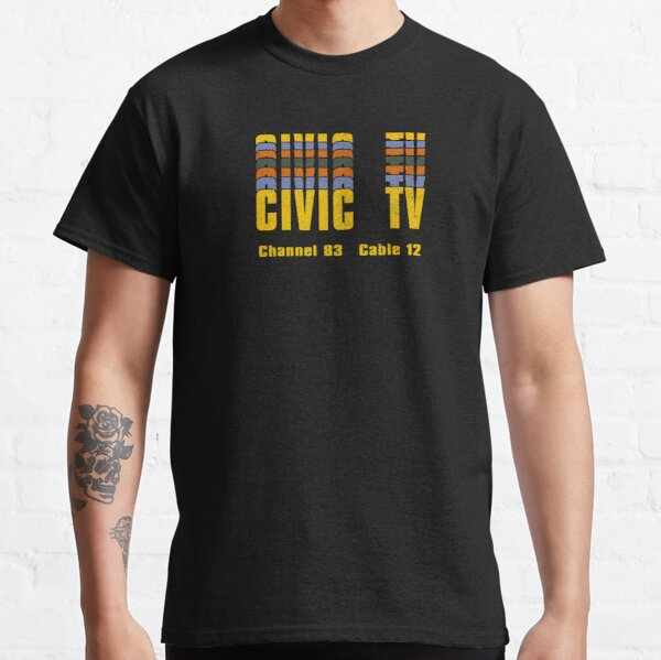 Videodrome Civic TV logo Classic T-Shirt
