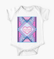 Love you patchwork gifts One Piece - Short Sleeve