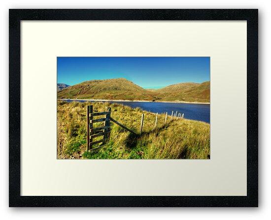 Loch Lyon, Glen Lyon by Stephen Smith