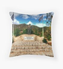 Cretian Memorial Throw Pillow