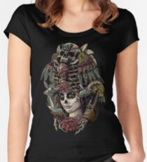 Day of the Dead (Ancient Guardians) Women's Fitted Scoop T-Shirt