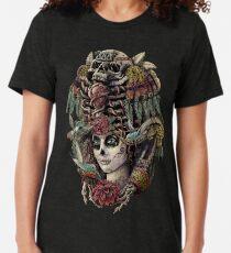 Camiseta de tejido mixto Día de los Muertos (Guardianes Antiguos)