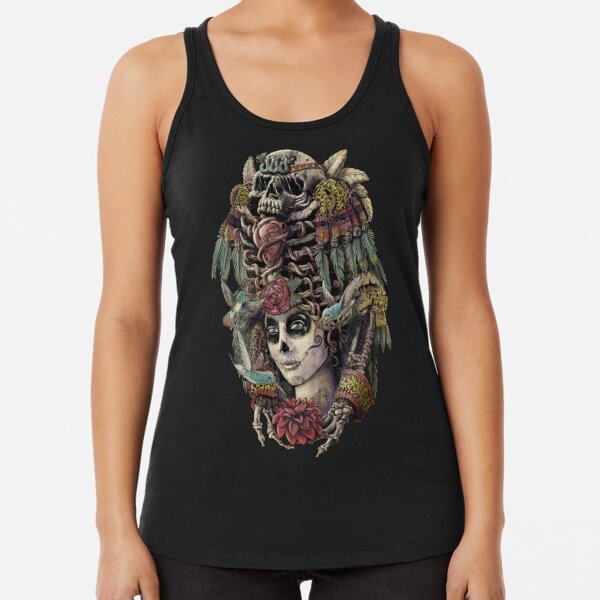 Day of the Dead (Ancient Guardians) Racerback Tank Top