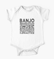 Banjo Typography One Piece - Short Sleeve