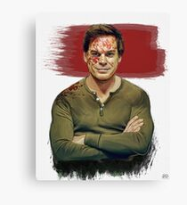 Dexter Morgan Canvas Print