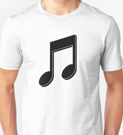 Music Note (Black) T-Shirt