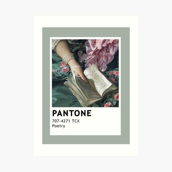 Pantone Poetry Art Print
