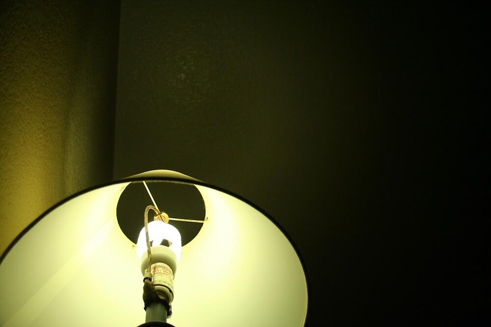 Green Lamp by Steve Nahaj