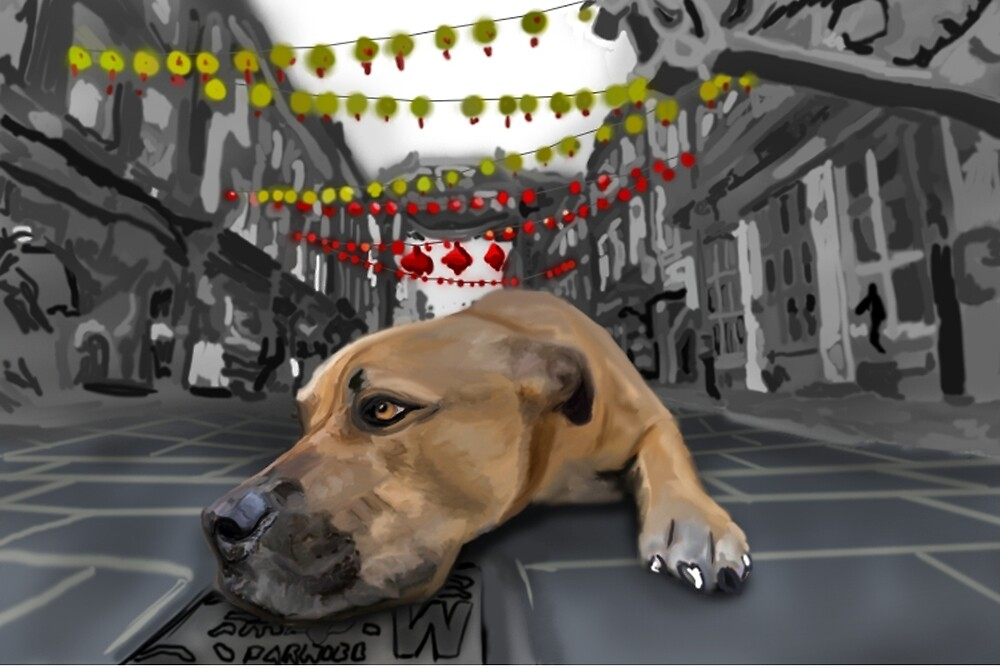 China town dog by Nutcase