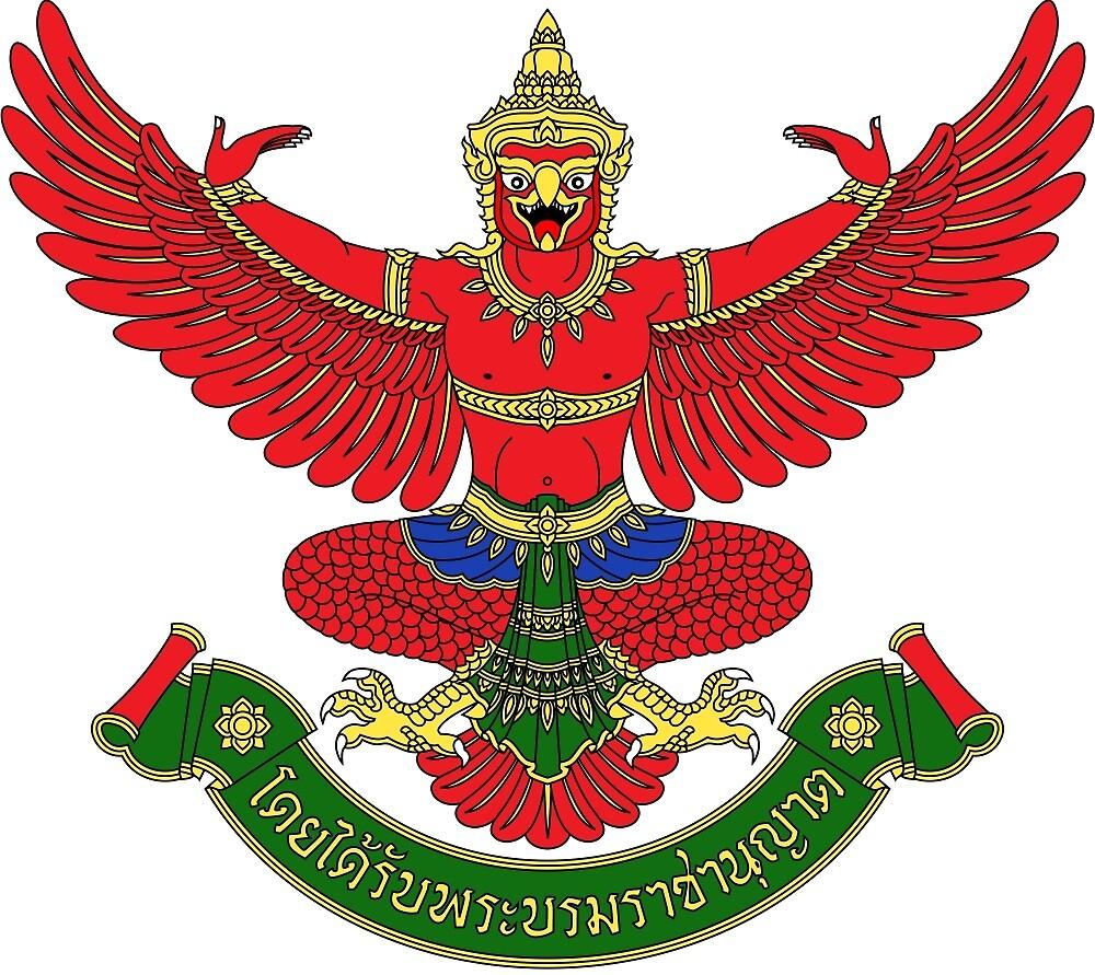 National Emblem of Thailand  by abbeyz71