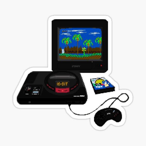 Mega Drive / Genesis - Retro Gaming - Original Pixel Art Sticker
