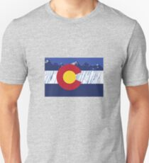 Colorado Rain Flag Unisex T-Shirt