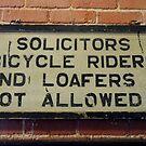 Vintage Train Station Sign by WildestArt