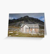 Spitsbergen History - Svalbard Arctic Greeting Card
