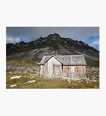 Spitsbergen History - Svalbard Arctic Photographic Print