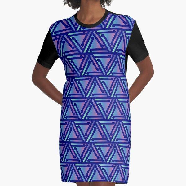 Ahuriri Summer (Paua) Graphic T-Shirt Dress