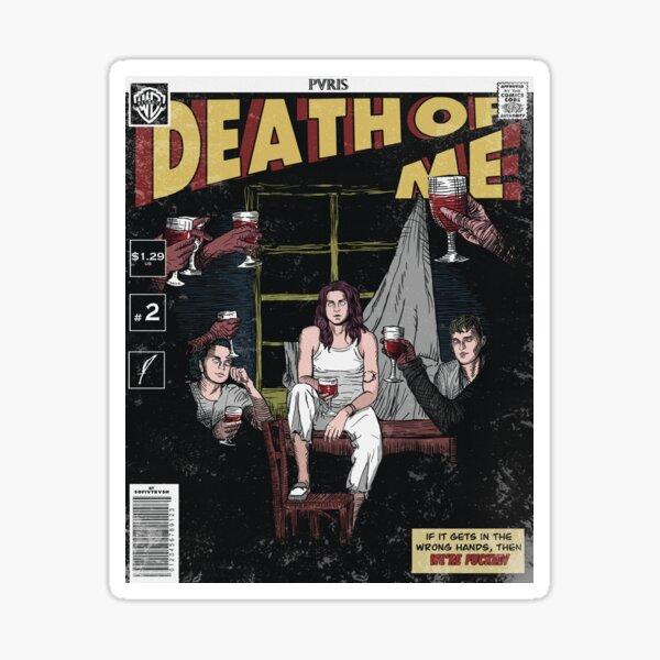 Death of Me comic cover // PVRIS Sticker