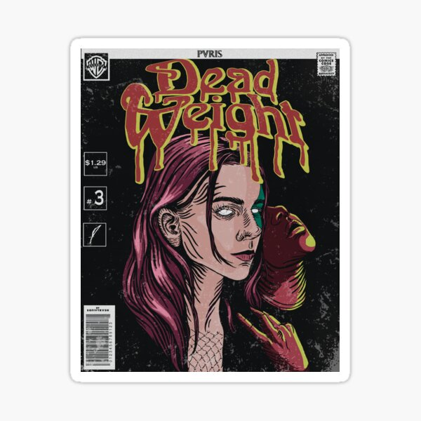 Dead Weight comic cover // PVRIS Sticker
