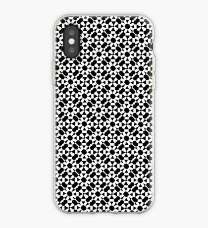Monochrome Pattern iPhone Case