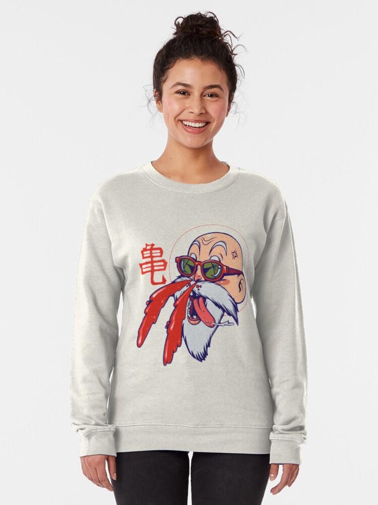 Hentai old man master roshi Pullover Sweatshirt by mr-aa