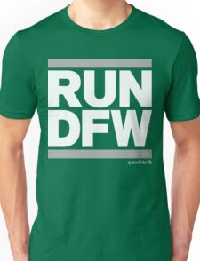 Run Dallas-Ft. Worth DFW (v2) Unisex T-Shirt