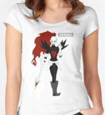 Undyne the Undying Women's Fitted Scoop T-Shirt