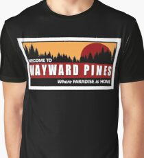 Welcome to Wayward Pines Graphic T-Shirt