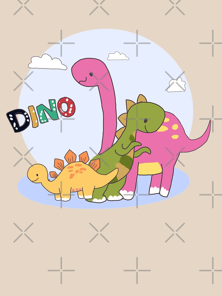 Dino Family Shirt design -Its Okay Not to Be Okay  by atipro