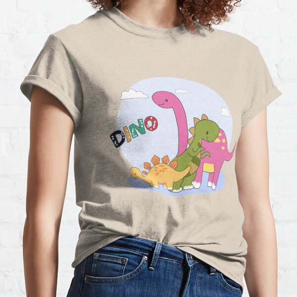 Dino Family Shirt design -Its Okay Not to Be Okay  Classic T-Shirt