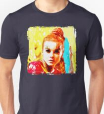 Psychedelic Red Head Unisex T-Shirt