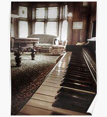 The Professor's Piano Poster