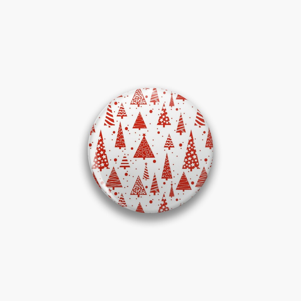 A Red Christmas Pin