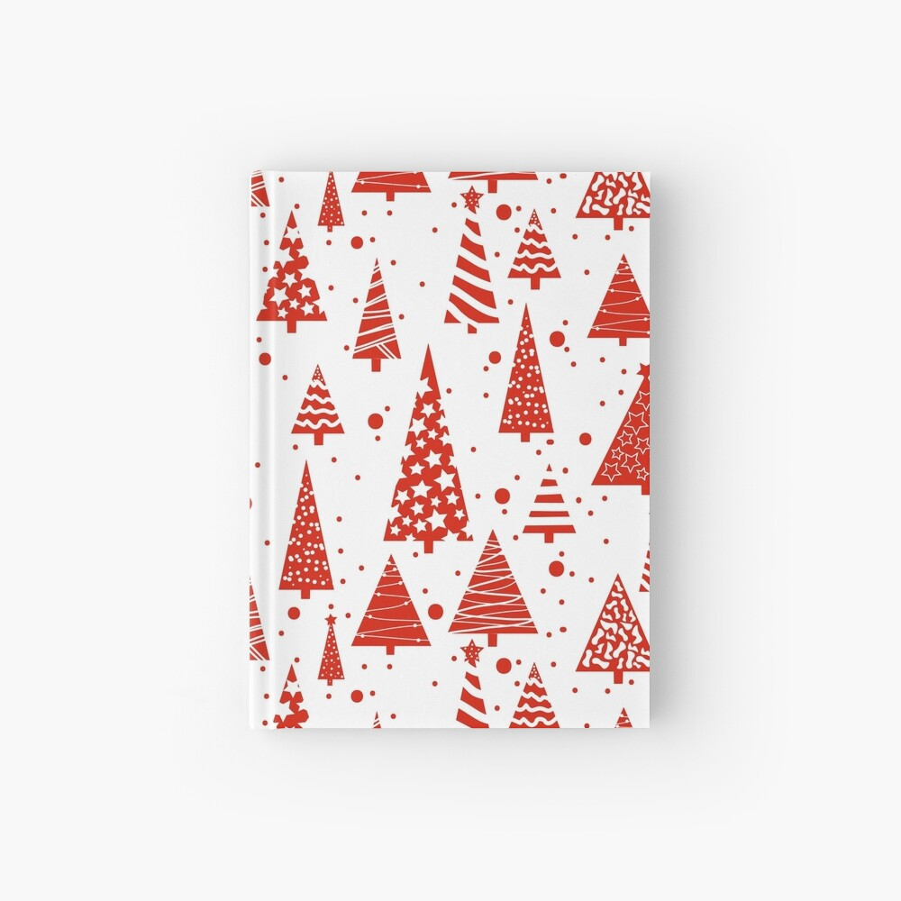 A Red Christmas Hardcover Journal