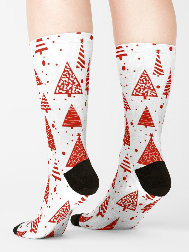 Alternate view of A Red Christmas Socks