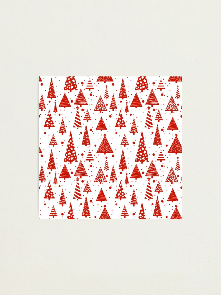 Alternate view of A Red Christmas Photographic Print