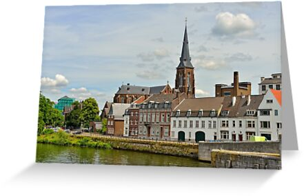 Maastricht, Netherlands by skyfish