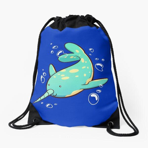 Narwhal Drawstring Bag