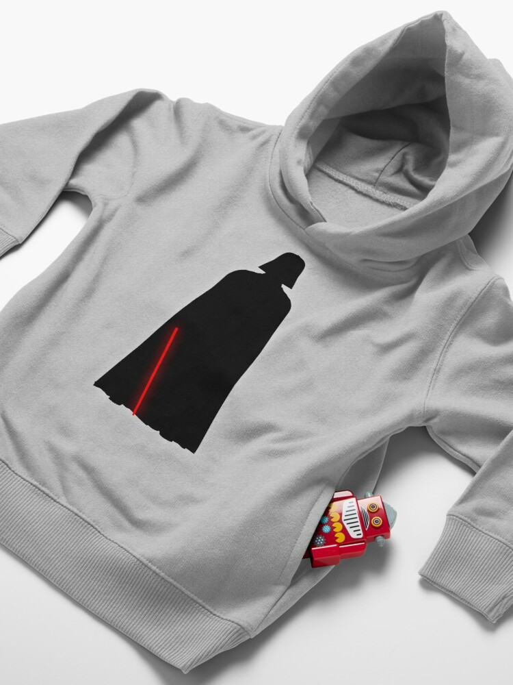 Alternate view of Sith  Toddler Pullover Hoodie