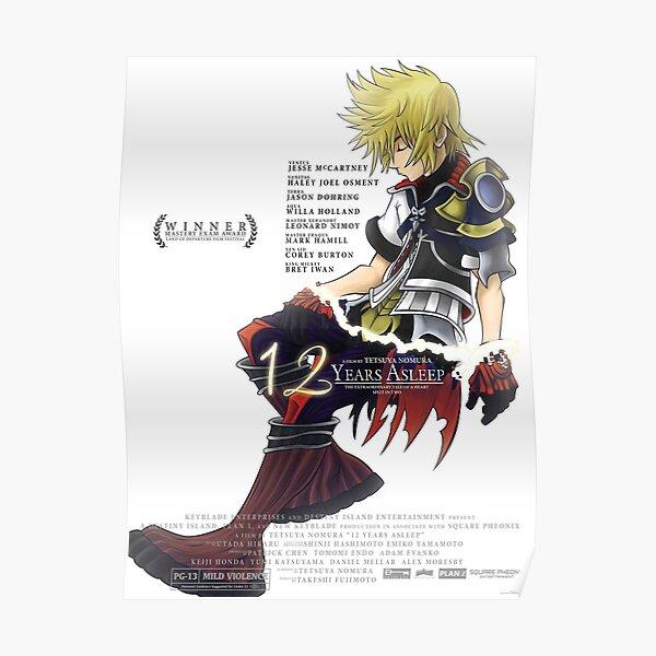 Kingdom Hearts - 12 Years Asleep Poster